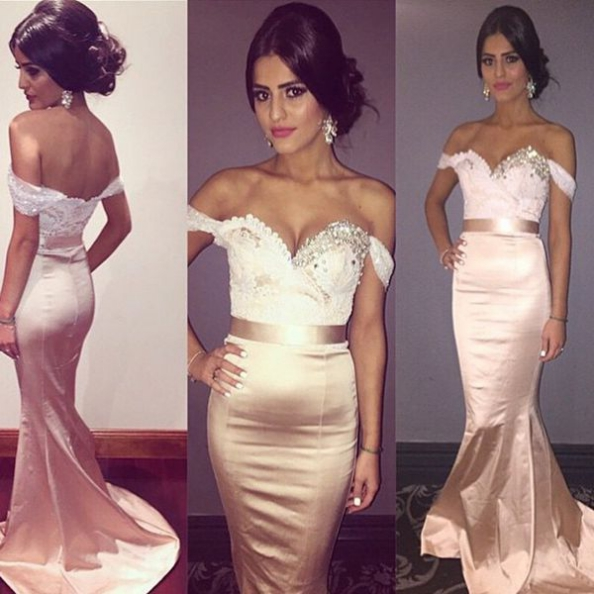 c9fa1244720c New Arrival Prom Dress,Pretty lace prom dress,pink lace mermaid off  shoulder prom
